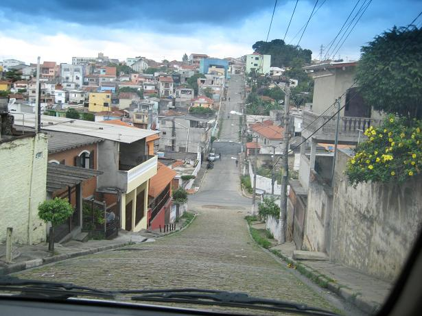 A typical poor neighboorhood in Brasil