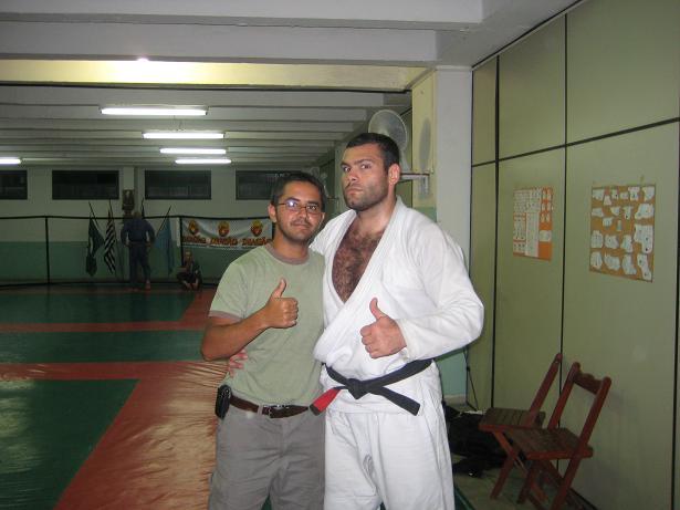 Myself and Napão